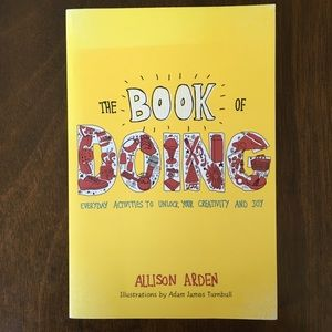 NWT Anthropologie   The Book of Doing